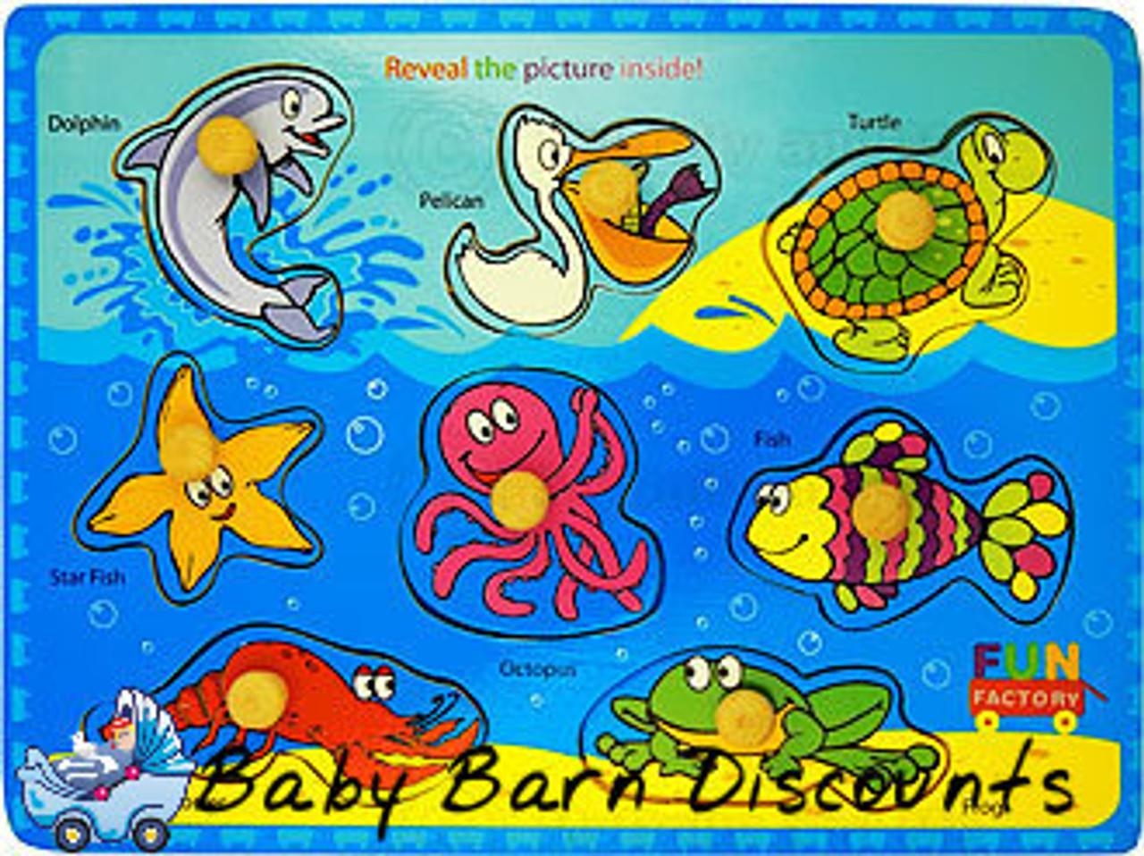 Fun Factory - Sea Animal Puzzle