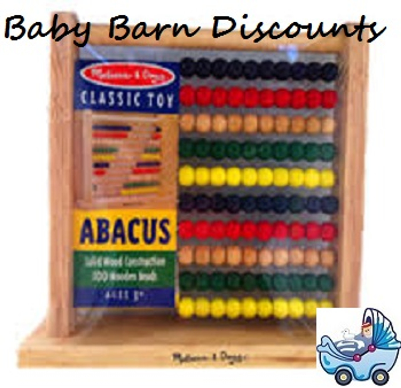 Lucky Tree - Wooden 100 bead Abacus