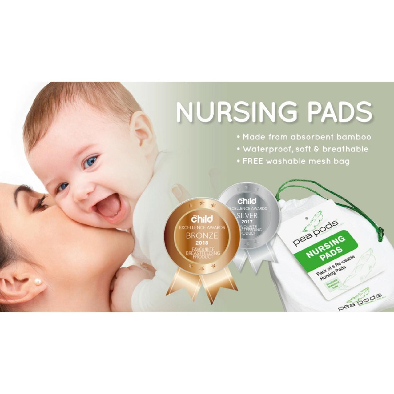 Pea Pods Reusable Nursing Pads
