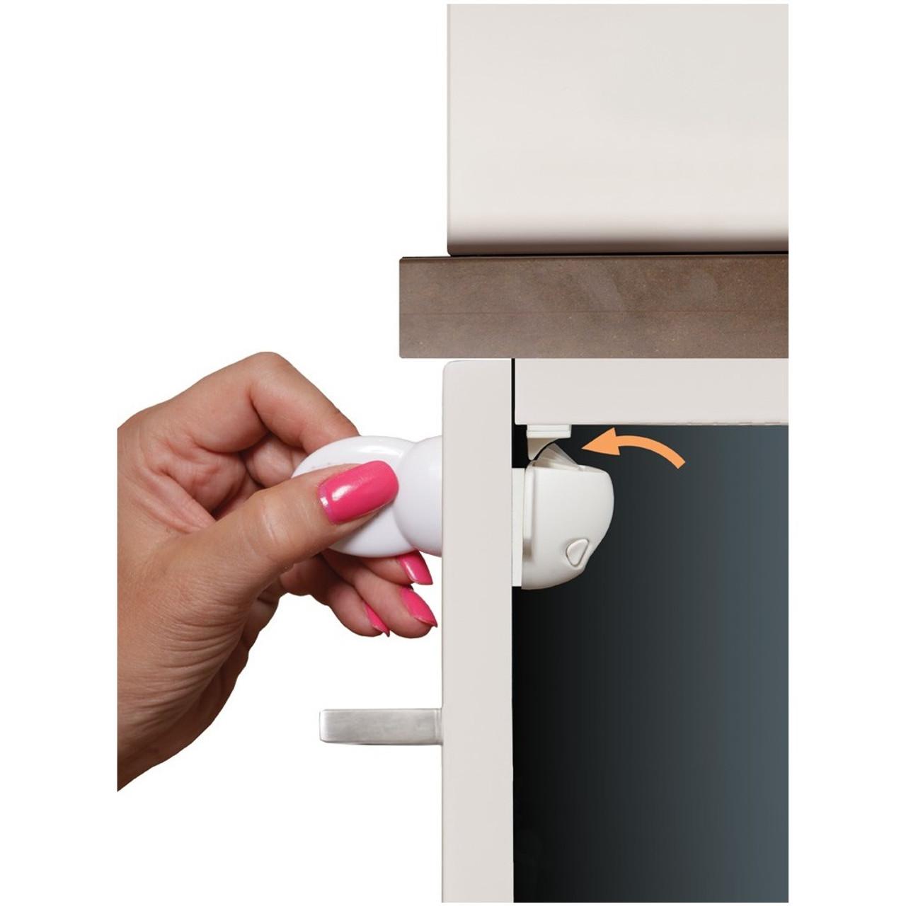 Dreambaby Adhesive Mag Lock - 2 Locks and 1 Key