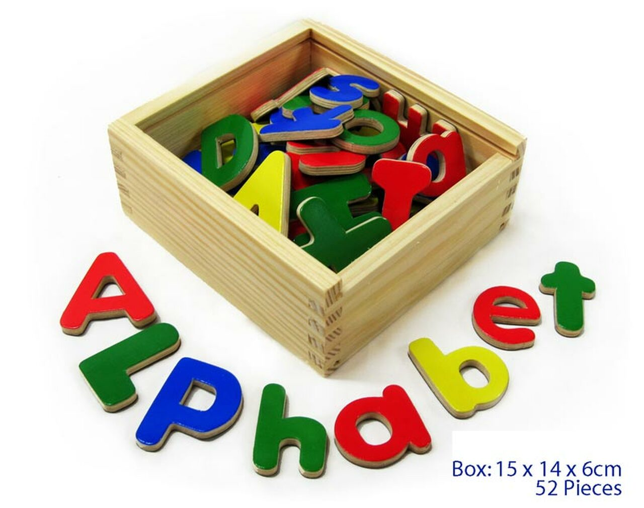 Fun Factory Magnetic Letters Upper & Lower Case 52pc