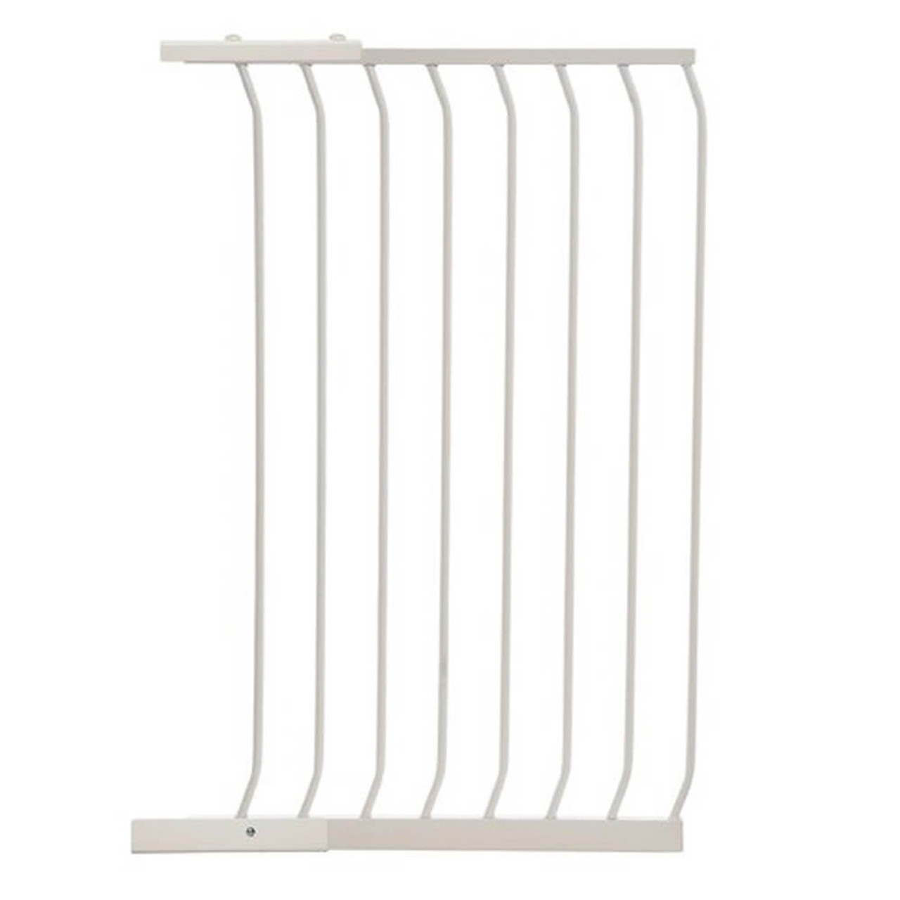 Dreambaby Chelsea 54cm Tall Gate Extension F843 (old packaging) at Baby Barn Discounts Dreambaby Chelsea Tall Gates are 1M high provide greater security and peace of mind for busy parents.