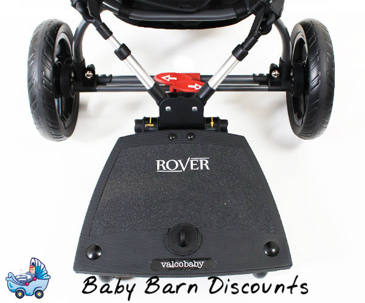 Valco Baby Rover Universal Sit Or Stand Toddler Ride On Board Fits