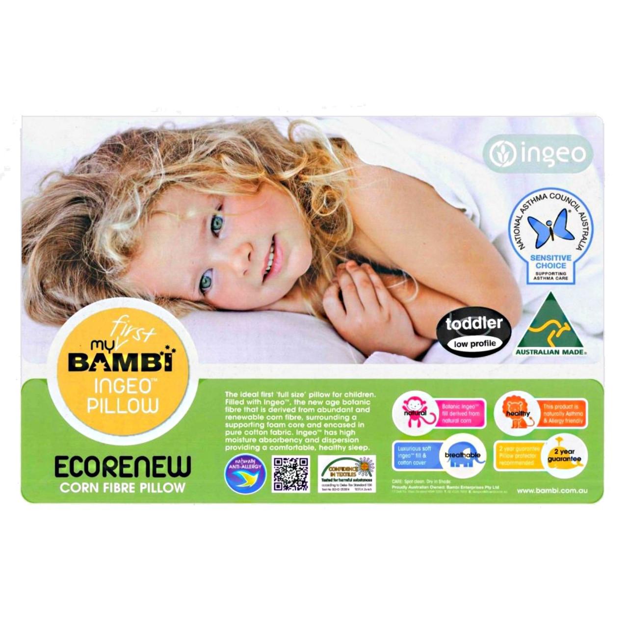 Bambi Ingeo Corn Fibre Toddler Pillow