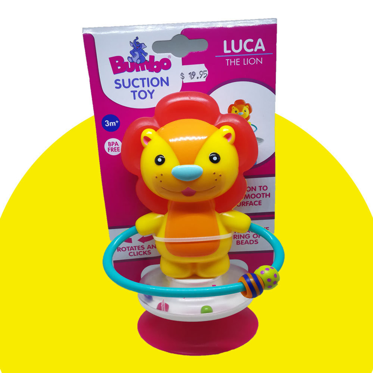 Bumbo Suction Toy for High Chairs and Play Trays