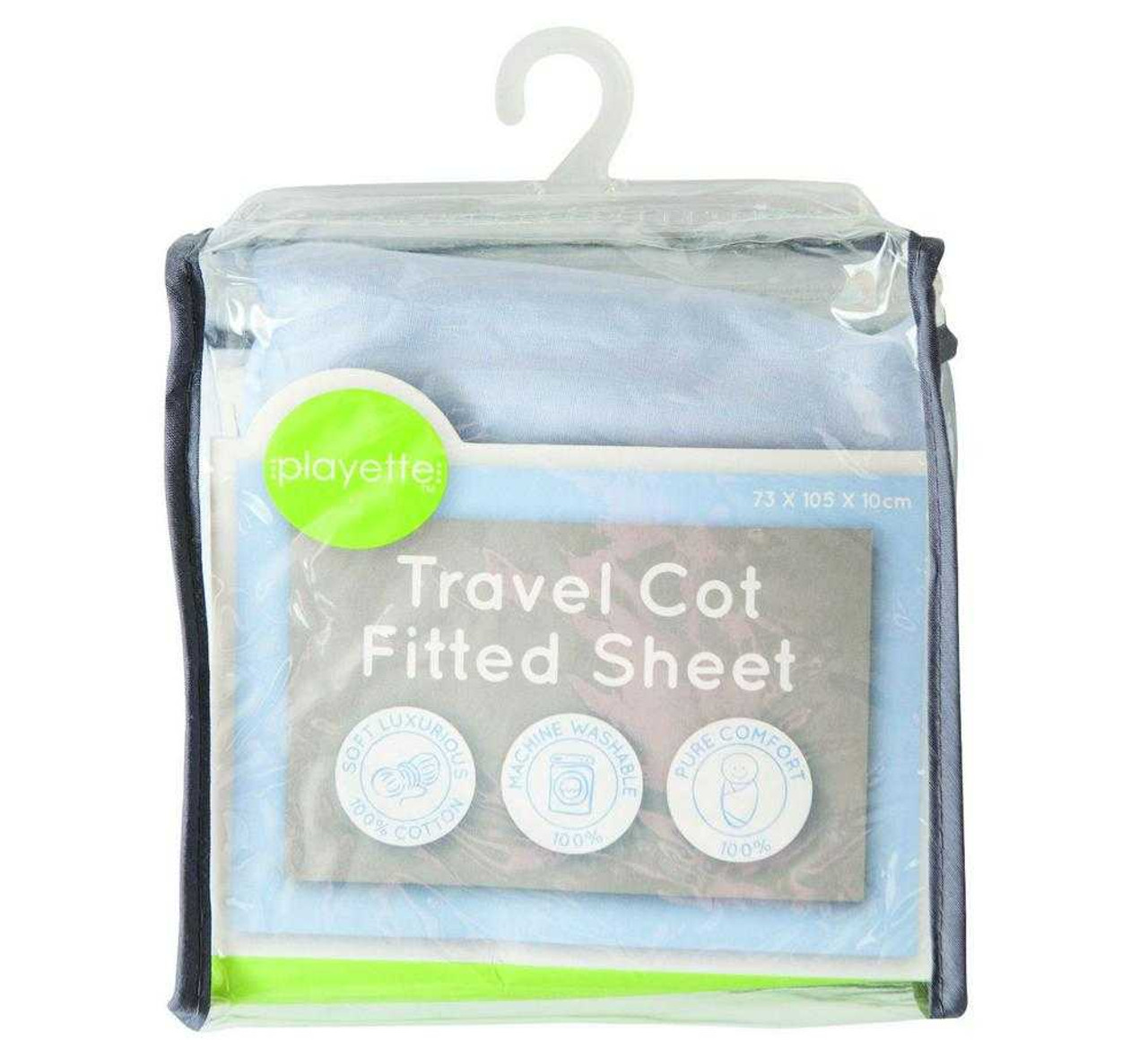 Playette Travel Cot Fitted Sheet Porta Cot Manchester 17.95
