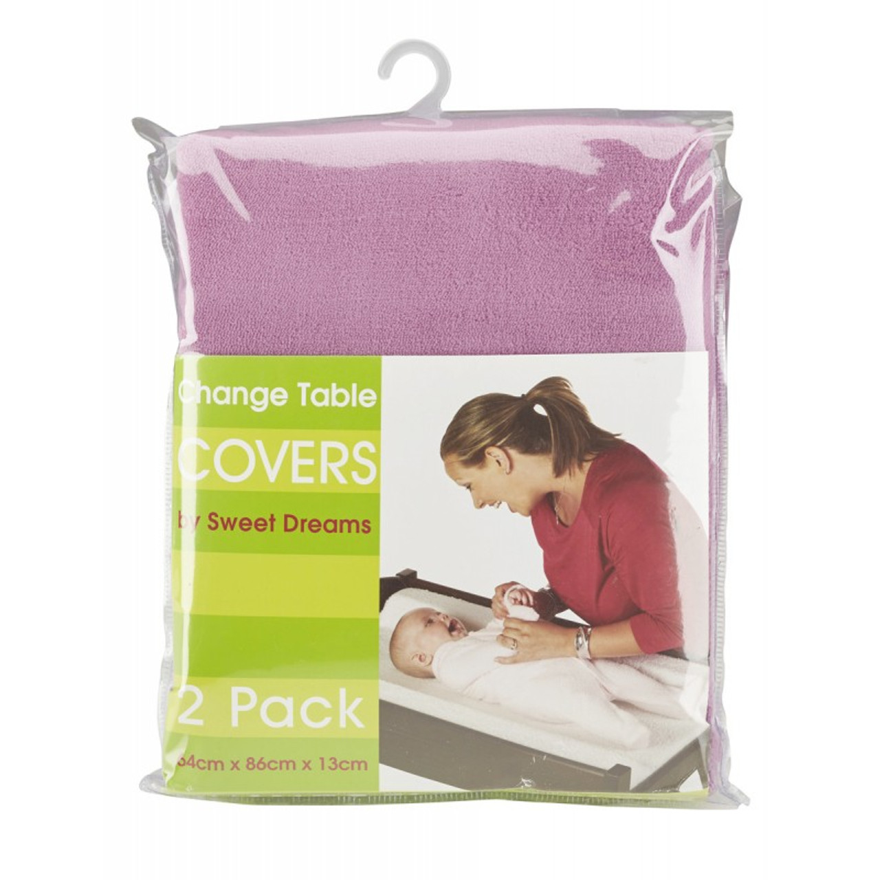 Sweet Dreams Change Table Cover Mat 2 Pack