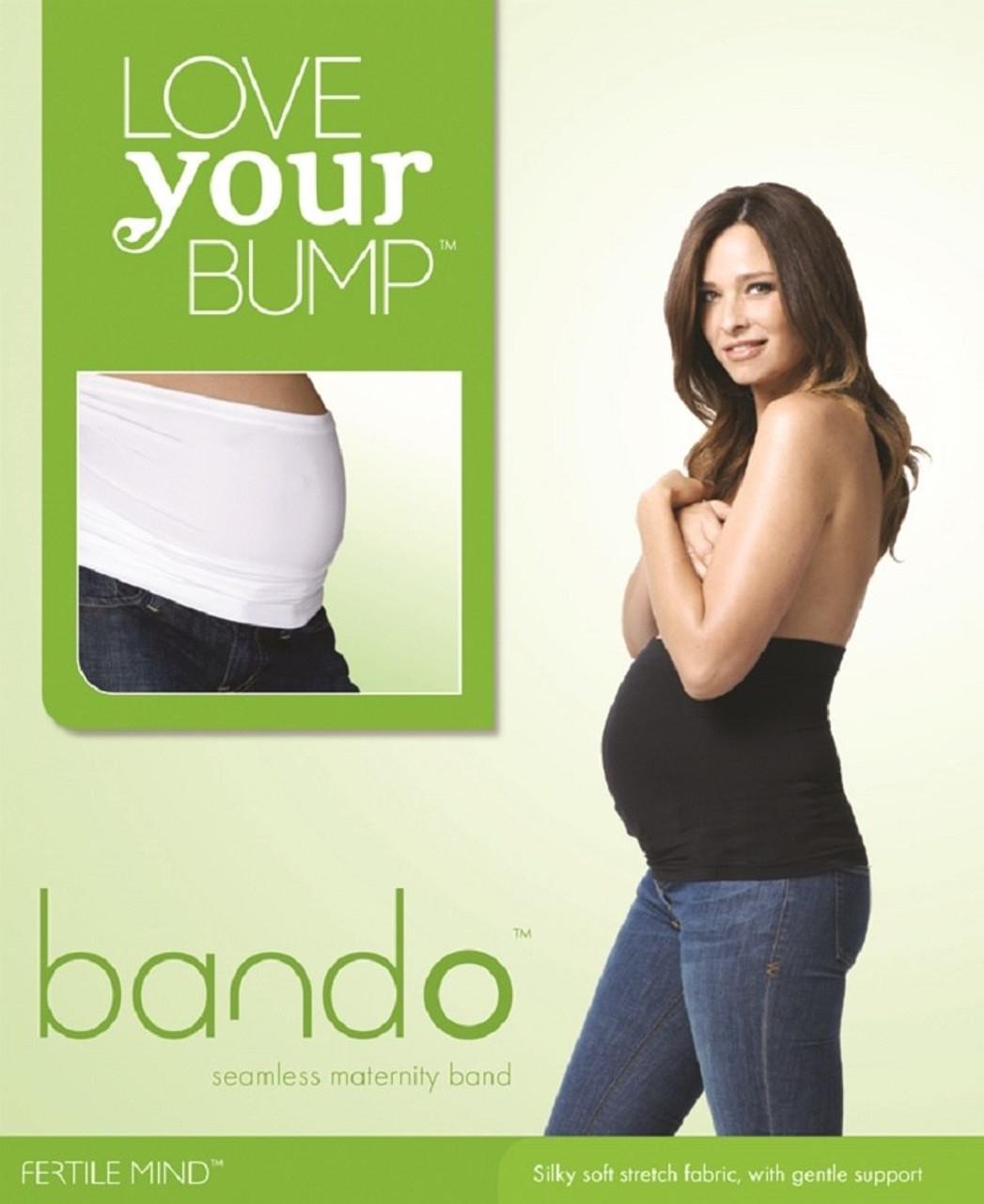 Bando Seamless Maternity Band Size S-M