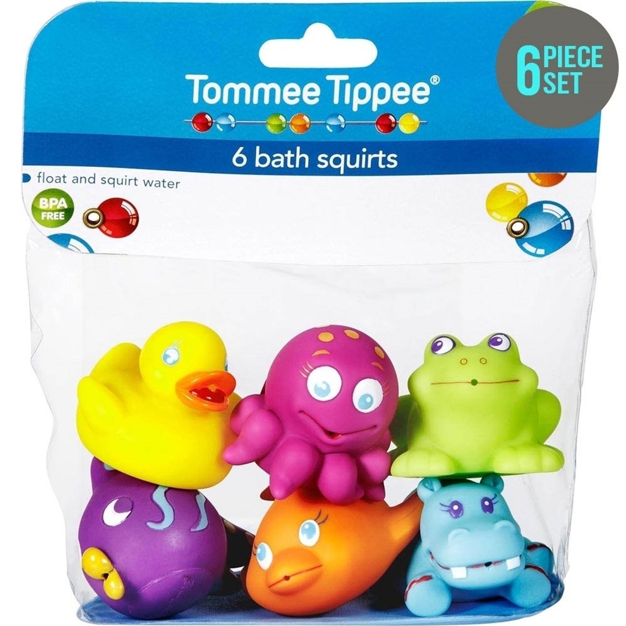 Tommee Tippee 6 Bath Squirts Toys