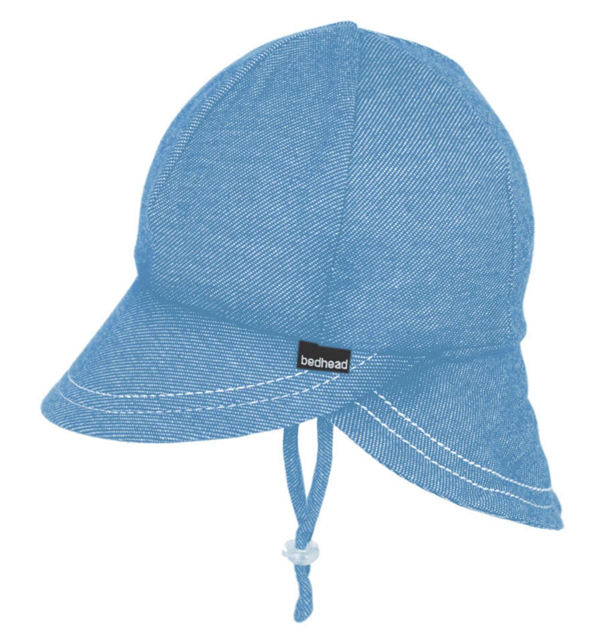 Bedhead UPF 50 Legionnaire Boys Hat - Chambray Blue