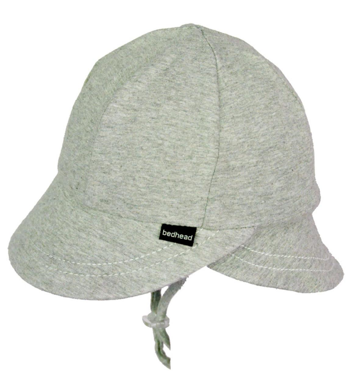 Bedhead UPF 50 Legionnaire Baby Hat - Grey Marle