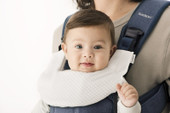 Baby Bjorn Carrier Bib Fits the One Carrier - White