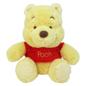 Disney Baby Winnie The Pooh Red Shirt Pooh Beanie Small Plush Toy 28cm at Baby Barn Discounts