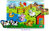 Fun Factory - Farmhouse Wooden Puzzle with Knobs