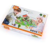 Viga 3D Farm Set Wooden Toy