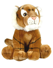Korimco Tiger Friendlee Plush Toy Small 23cm - GOLD