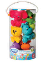 Playgro Fun In A Tub Jungle Water Squirtees 9pcs