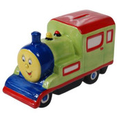 Toot Toot the Train ceramic money bank
