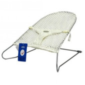 Babyhood Safety Mesh Bouncer - Cream