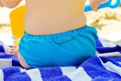 Pea Pods Swimmers - Aqua Blue