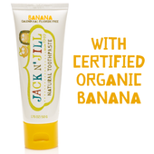 Jack N' Jill Natural Child's Toothpaste 50g - BANANA