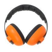 Baby Banz Mini Earmuffs for 3 month+ - ORANGE