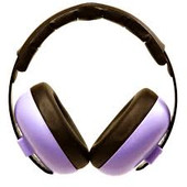 Baby Banz Mini Earmuffs for 3 month+ - PURPLE