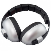 Baby Banz Mini Earmuffs for 3 month+ - SILVER