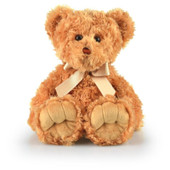 Korimco Max Plush Teddy Bear Large 48cm - BEIGE