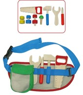 Kaper Kidz Wooden Tool Belt Set