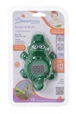 Dreambaby Room & Bath Thermometer - CROCODILE