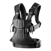 Baby Bjorn Baby Carrier One Cotton - BLACK