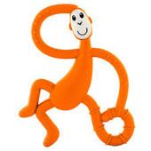 Matchstick Monkey Dancing Teether - ORANGE