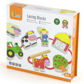 Viga Lacing Blocks Farm
