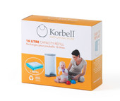 Korbell Nappy Disposal 16 Litre Refill Single Pack