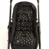 Outlook Mini Pram Liner - BLACK SWALLOWS