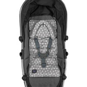 Outlook Mini Pram Liner - GREY BIRDS