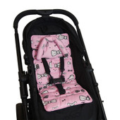Outlook Mini Pram Liner - PINK BOWS
