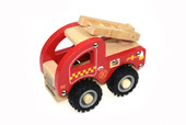 Koala Dream Wooden Truck - Fire Engine