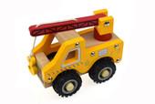 Koala Dream Wooden Truck - Crane Truck