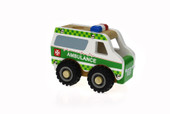 Koala Dream Wooden Truck - AMBULANCE