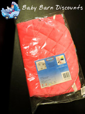 Babyhood Padded Bouncer Cover - HOT PINK