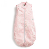 ergoPouch Sheeting Sleeping Bag 0.3 tog 2-12 Months - SPRING LEAVES