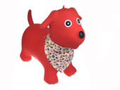 Kaper Kidz Bouncy Rider Ride on Toy - RED DOG