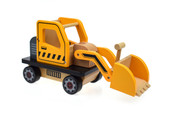 Tooky Toy Wooden Bulldozer