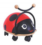 Bubbadoo Ride On Ladybug