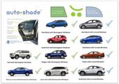 Outlook Autoshade Car Window Shade Twin Pack
