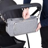 Outlookbaby Pram Caddy Grey Melange