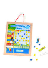 Tooky Toy Wooden Responsibility Chart