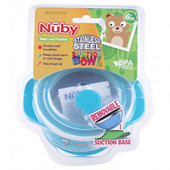 Nuby Stainless Steel Suction Bowl